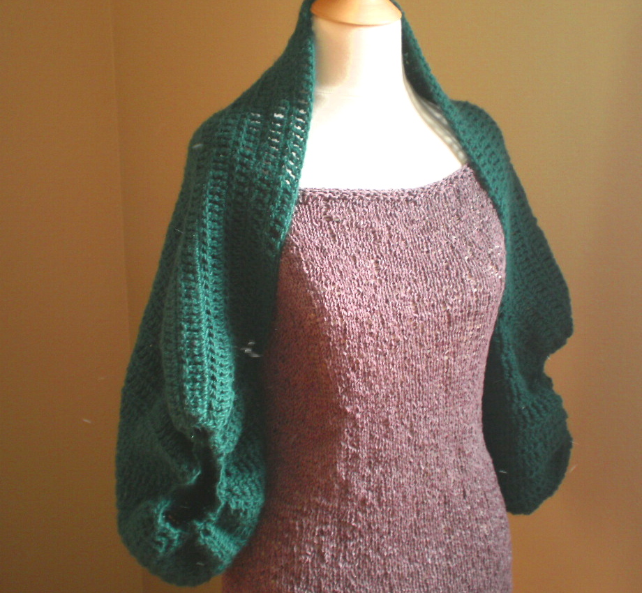 Cocoon Cardi Crochet Pattern Handmade by Anne Potter