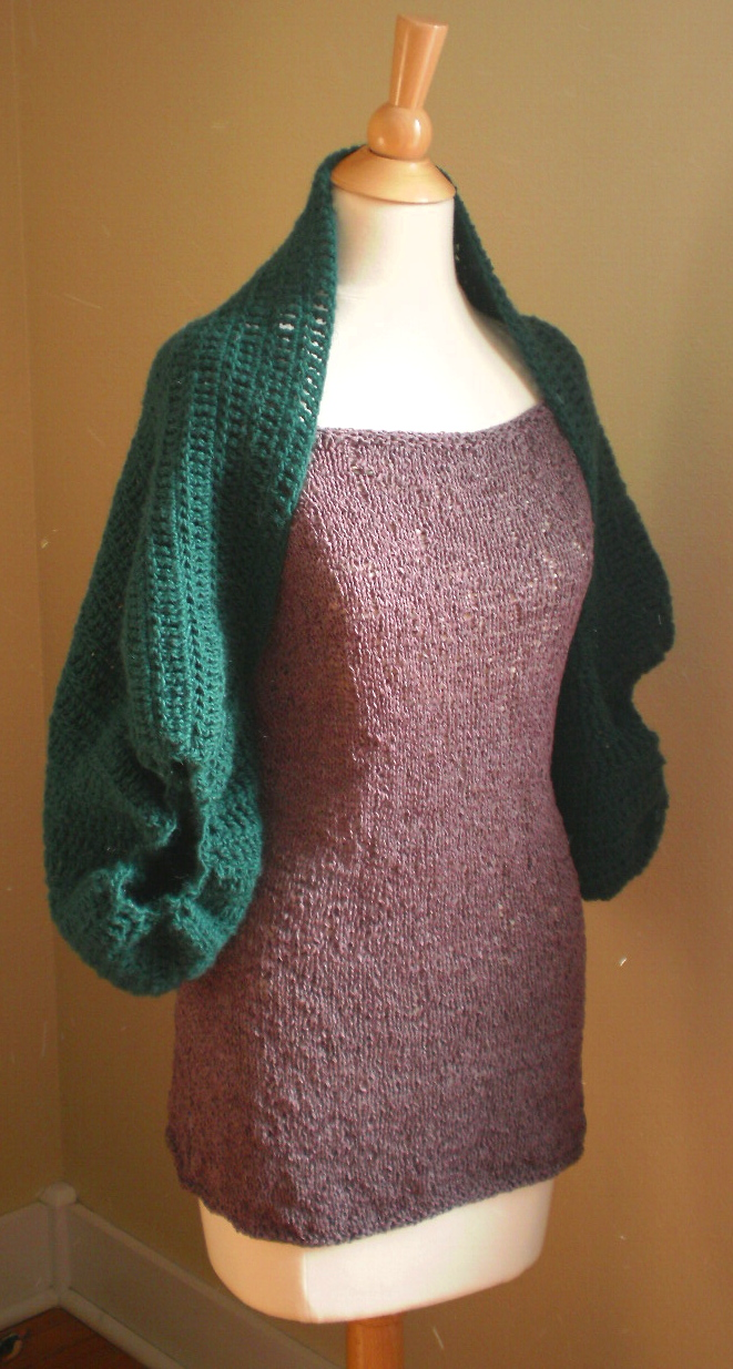 Free Crochet Cardi Wrap Pattern : Crochet Patterns Handmade by Anne Potter