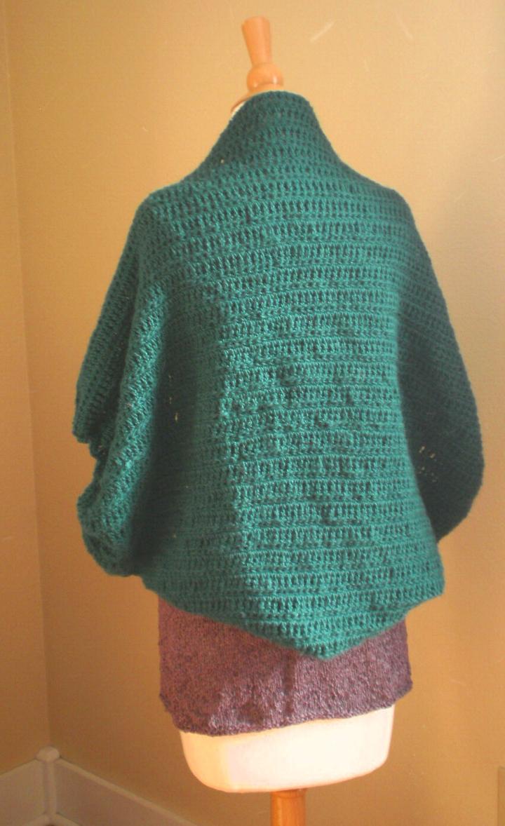 Free Crochet Cardi Wrap Pattern : Cocoon Cardi Crochet Pattern ? Handmade by Anne Potter