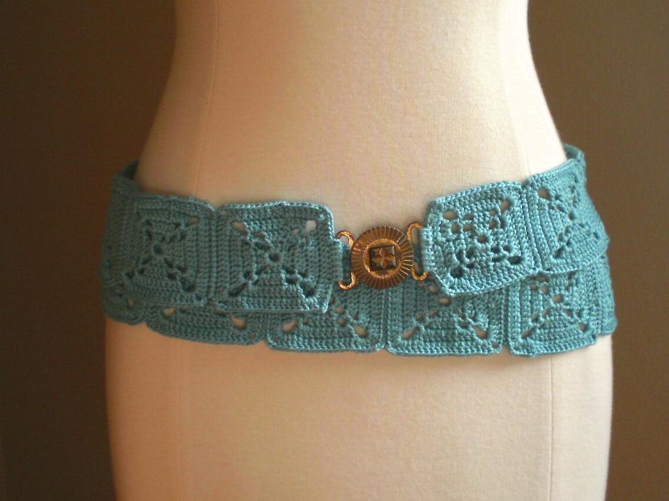 Tobago Belt Crochet Pattern Handmade By Anne Potter