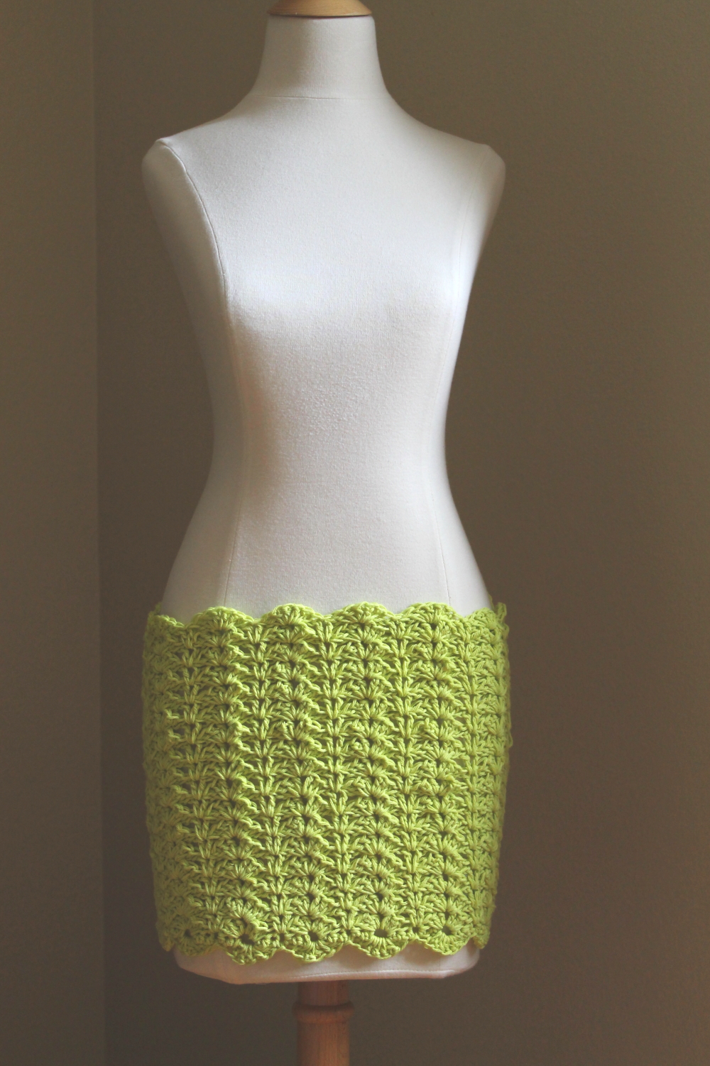 Wailua Mini Cover-Up Skirt Crochet Pattern – Handmade by Anne Potter