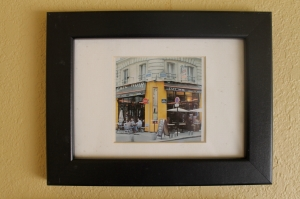 Paris Street Framed Photo