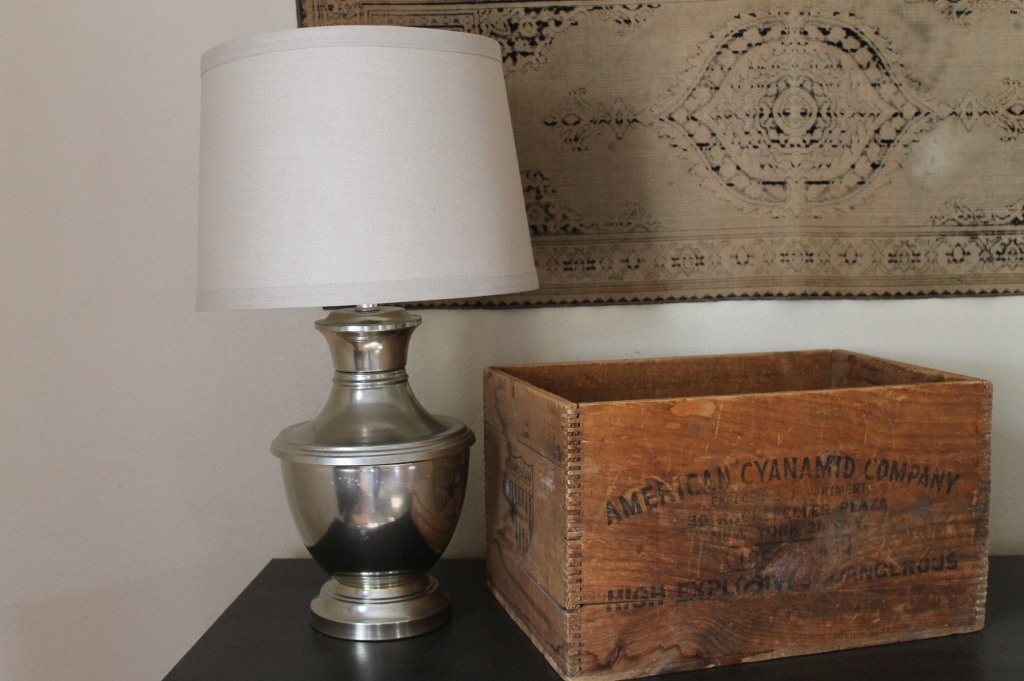 After - $1 Garage Sale Lamp