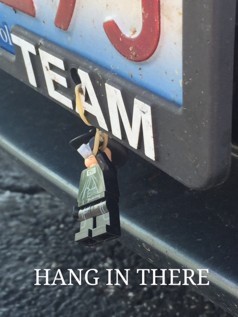 """""""Hang In There"""" Inspirational Poster"""