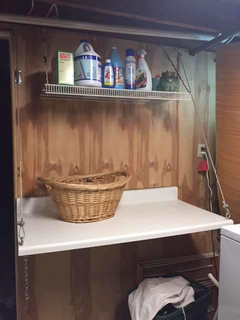 Before - Laundry Room Makeover