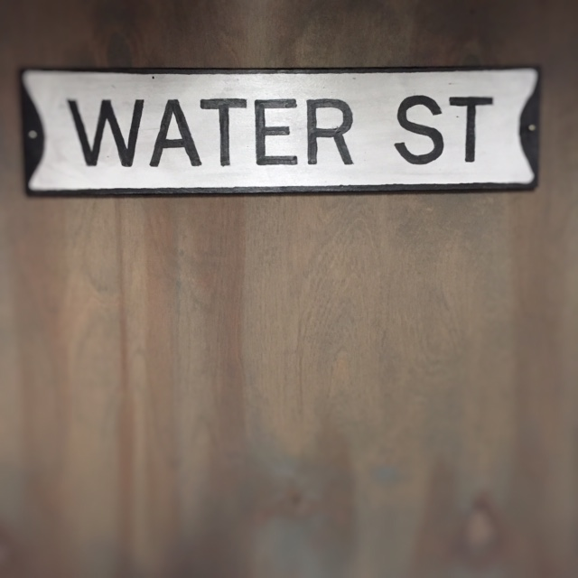Reproduction Street Sign