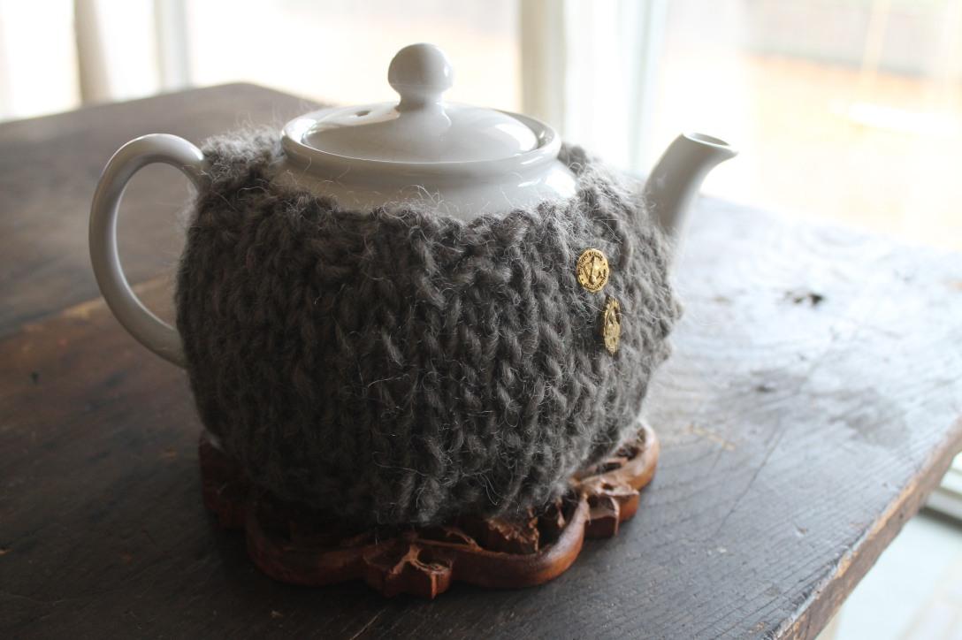 Boyfreind Sweater Tea Cozy