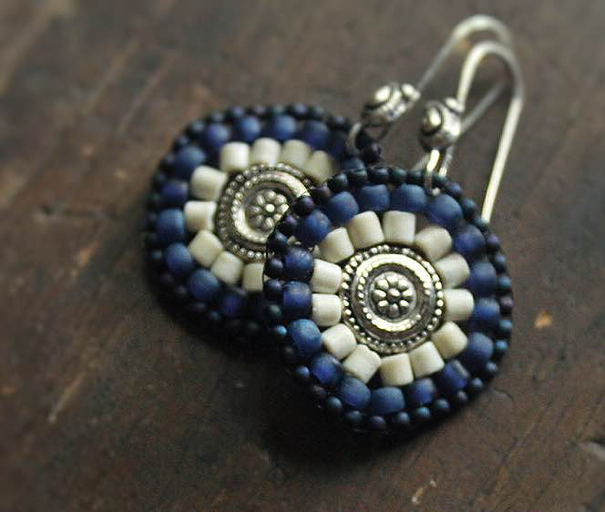 Polish Pottery Earrings