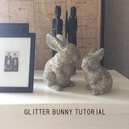 Glitter Bunny Tutorial